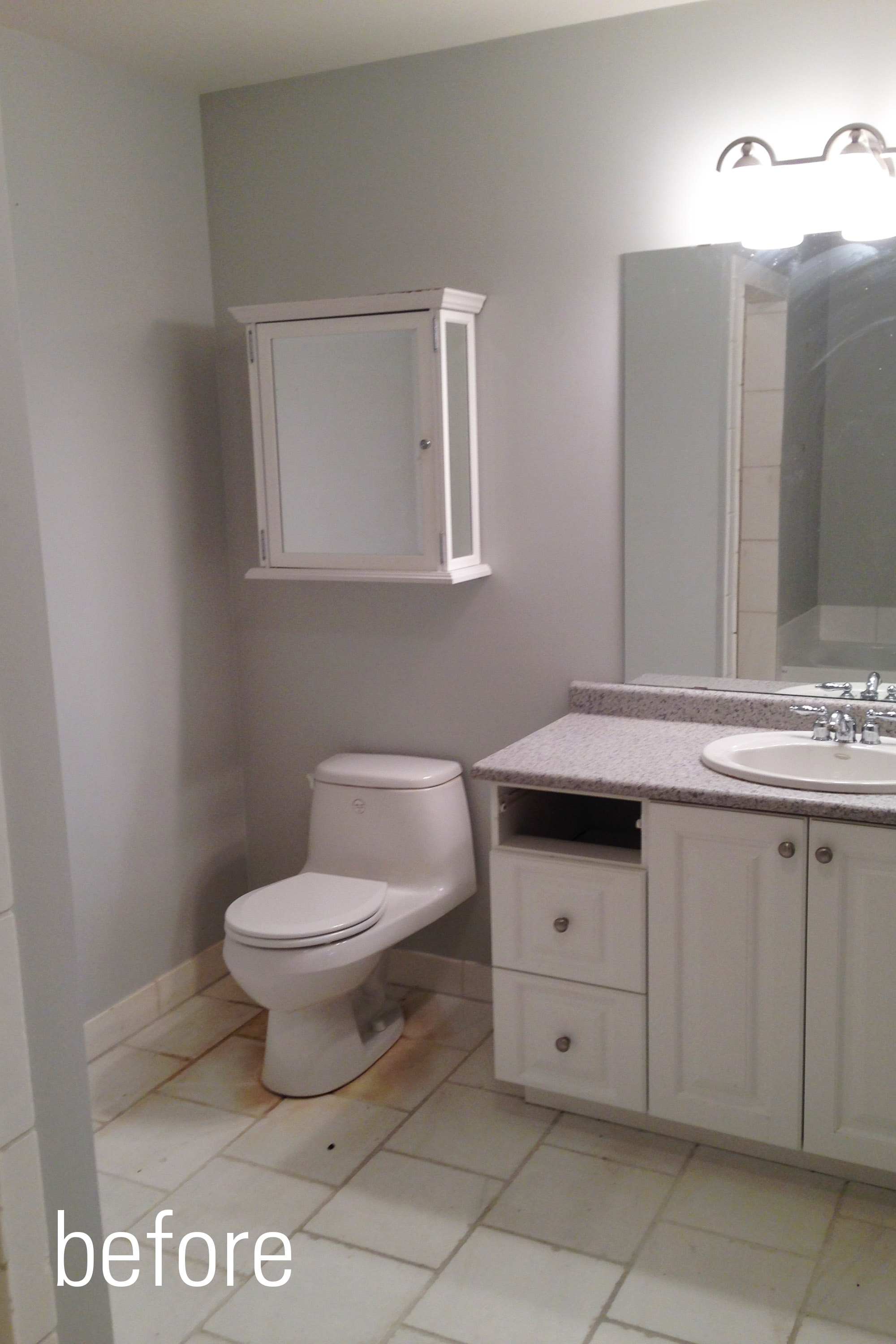 Waterfront rental unit bath design construction of for Updating a bathroom